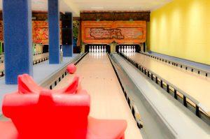 Bowling Quellenhof Bumper und Ballrampe (rot)